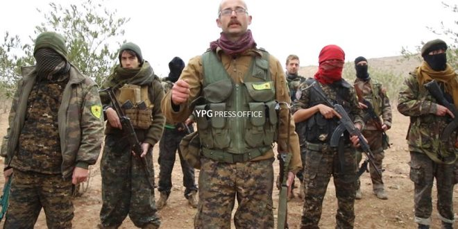 Internationale frivillige deltager for at forsvare Afrin