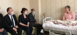 HDP, HDK, DTK og DBP besøger Leyla Güven