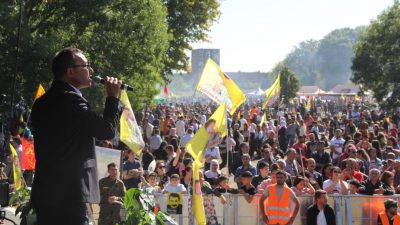 Maastricht: Status for Rojava, frihed for Öcalan!