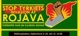 Stordemo på lørdag: Stop Tyrkiets Invasion i Nordsyrien