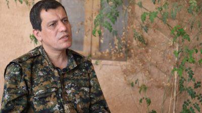 Amerikansk delegation besøger Rojava