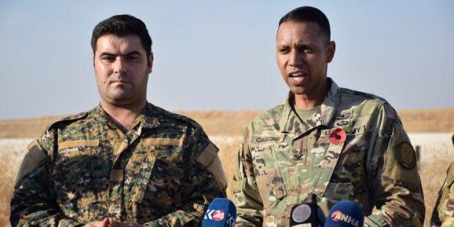Caggins: Vi vil fortsætte med at samarbejde med SDF i kampen mod IS