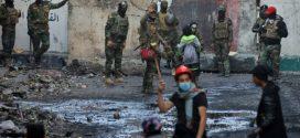 Over 450 dræbte i to måneders protest i Irak