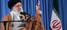 Ayatollah Khameneis falmende accept i Iran, Irak og Libanon