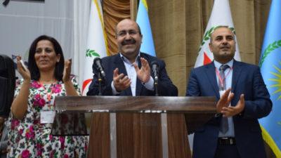 Enver muslim og Ayşe Hiso er blevet valgt som nye ledere af PYD