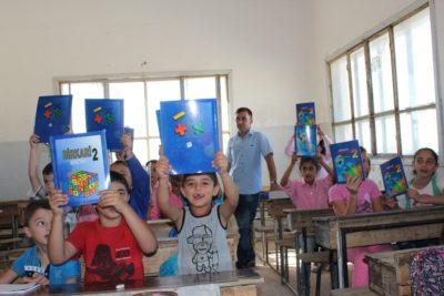 Onlineundervisning på Rojava TV