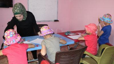 Børnehjem åbner i Sheikh Maqsoud, Aleppo