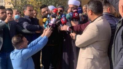 Religiøse lærde støtter protesterne i det sydlige Kurdistan
