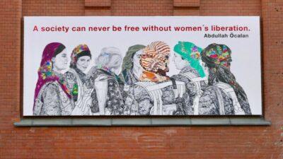 Kurdisk vægmaleri i Oslo er ikke fjernet på trods af dødstrusler
