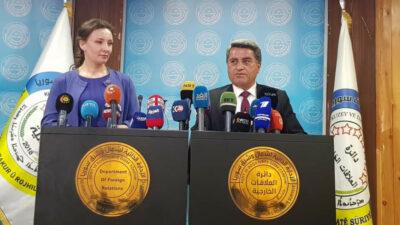 Kurdisk styre i Syrien giver 34 børn til Rusland