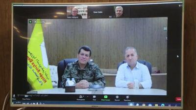 Sverige og det nordlige Syrien/Rojava ønsker at styrke dialogen yderligere