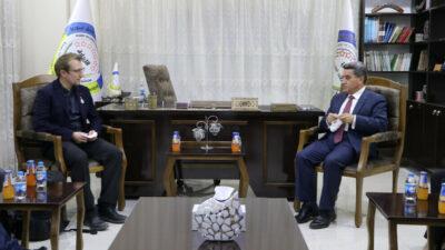Den franske delegation besøger det nordlige Syrien/Rojava