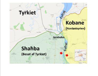 Hvert eneste år brænder Tyrkiet afgrøder af i Kobani-området
