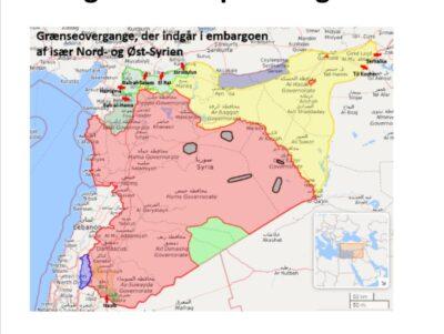 Grænseovergange i Syrien bruges som afpresning