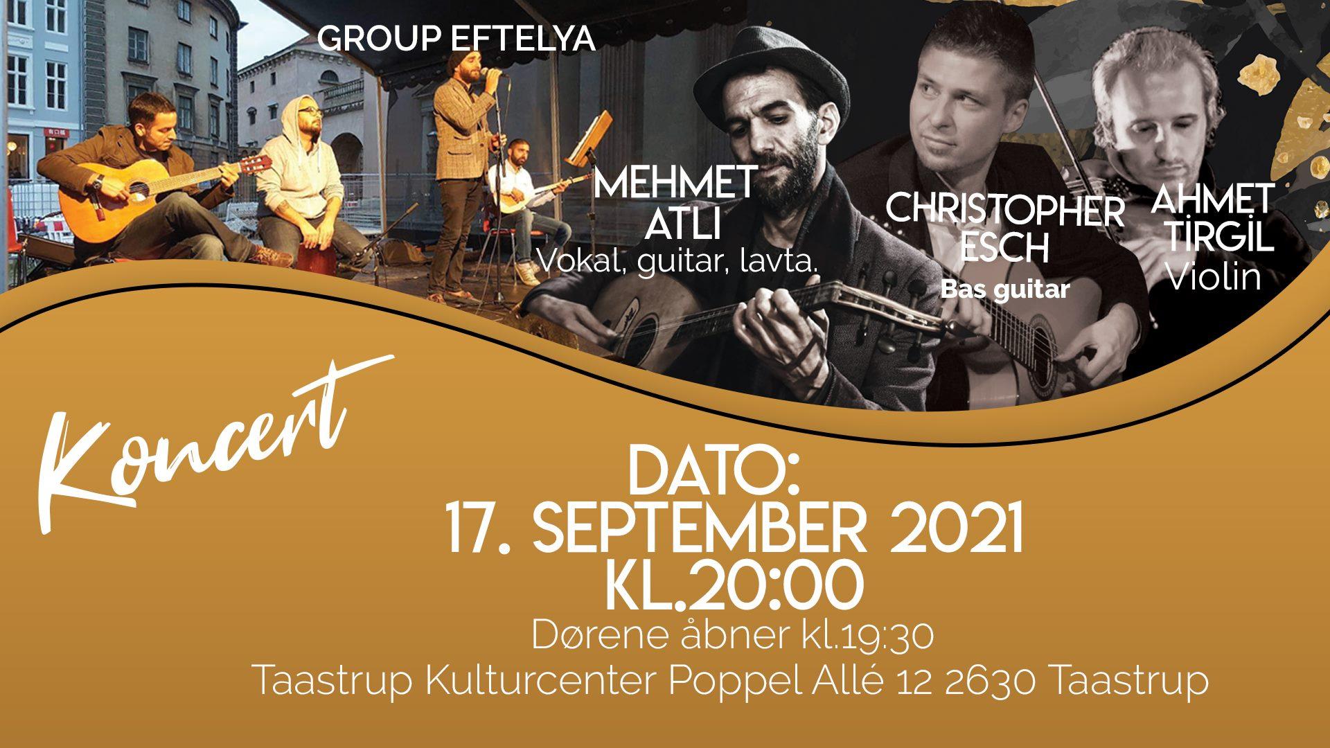 Mehmet Atli Live Koncert i Vestegnens Kulturuge Festivalen