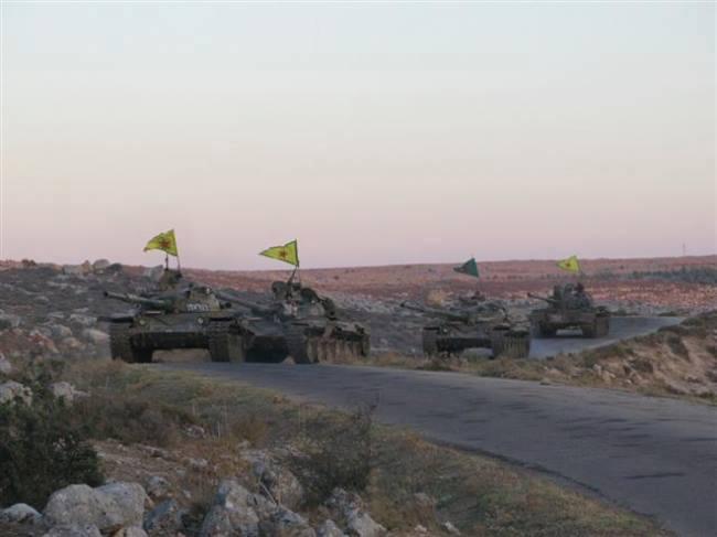 YPG er rykket 15 km ind i Irak