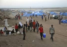 Amed: Bygget teltby for 3000 mennesker