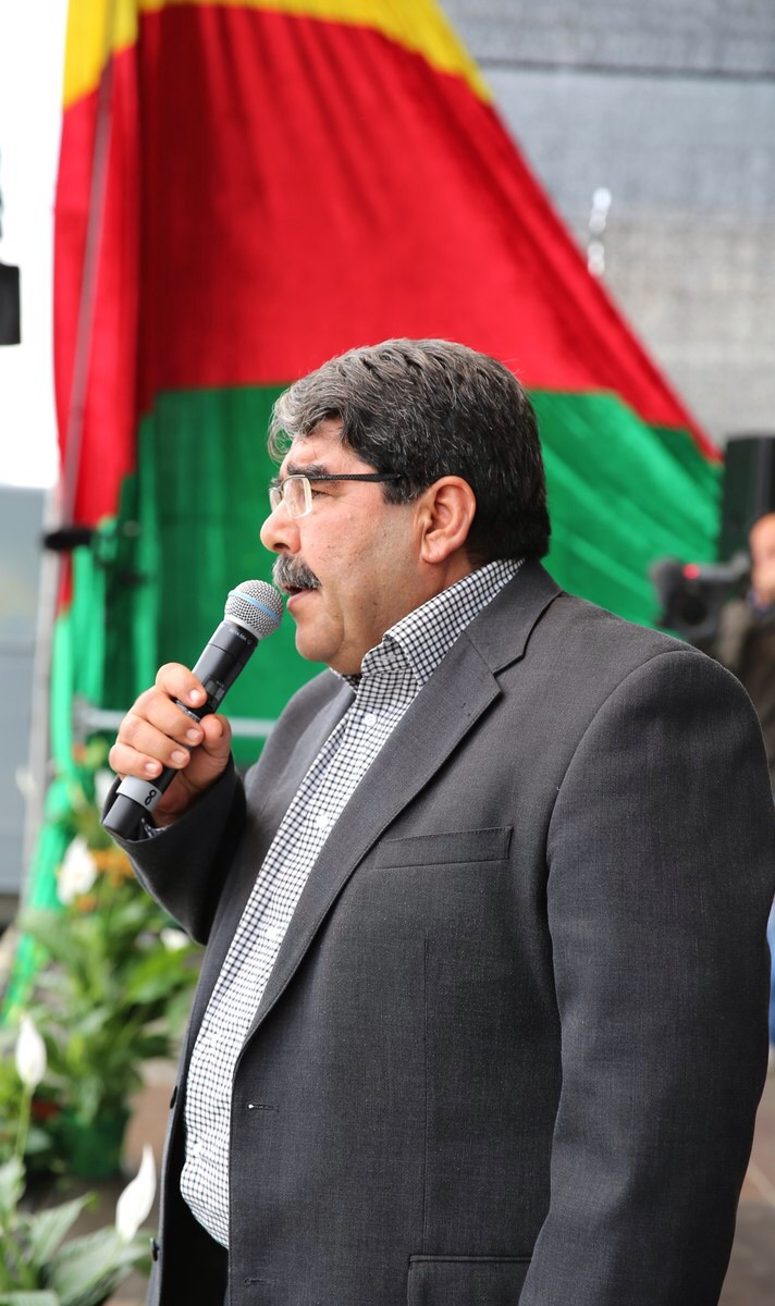 "Salih Muslim: ""Vi vil forsvare og genopbygge Shingal"""