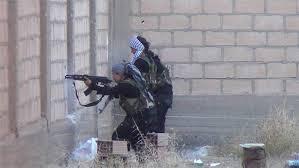 Kampe mellem YPG og Assad-styrker