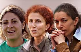 Tre kurdiske kvinder, der blev dræbt for otte år siden
