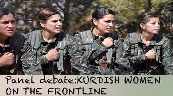 "Panel debate: ""Kurdish Women on the Frontline"""