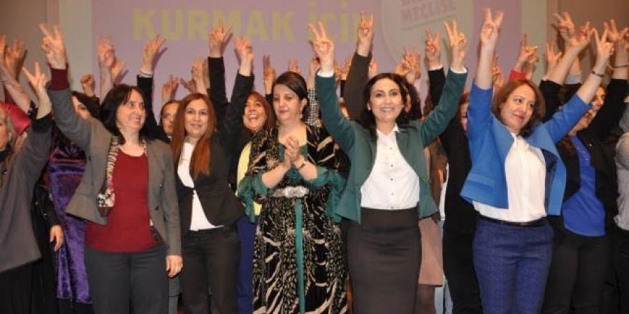 HDP's kvinder overtrumfer det tyrkiske parlament