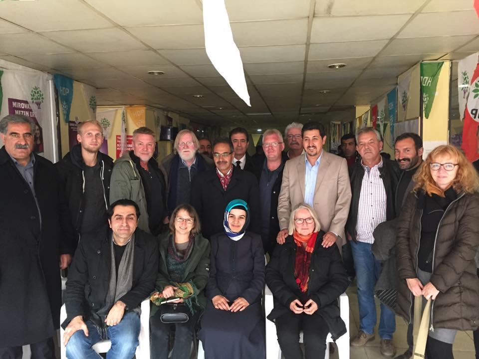 Dansk delegation overværer historisk valg i Tyrkiet