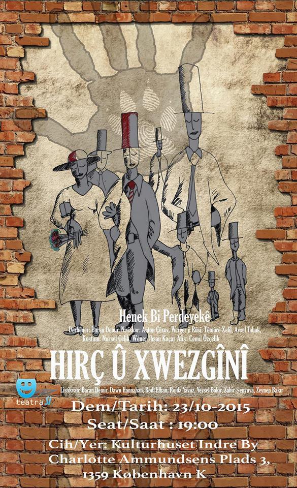 HIRÇ Û XWEZGÎNÎ – Kurdisk Teater i Danmark