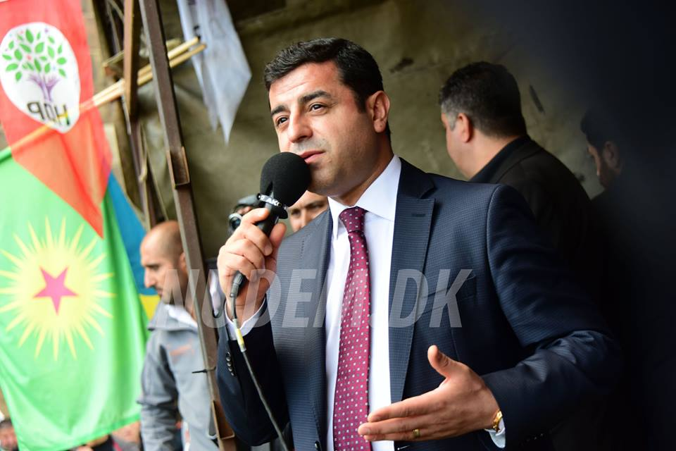 Attentatforsøg mod Selahattin Demirtas