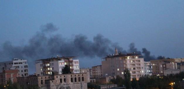 Byen Silvan brænder
