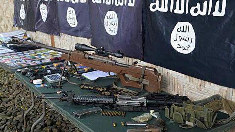 IS har masser af vestlige våben