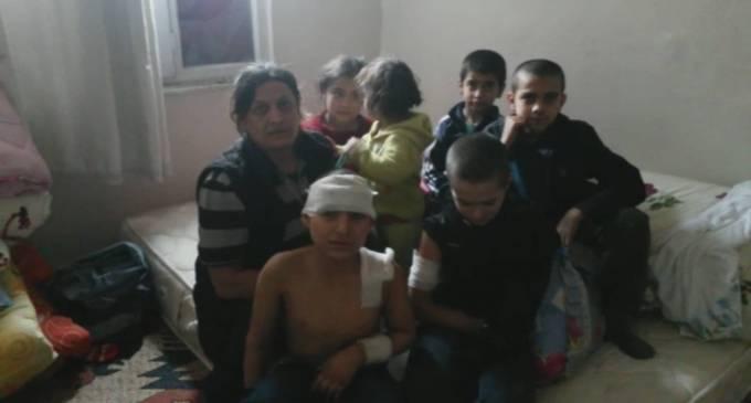 Optagelser fra Sur: Vi kan ikke trække vejret på grund af angreb