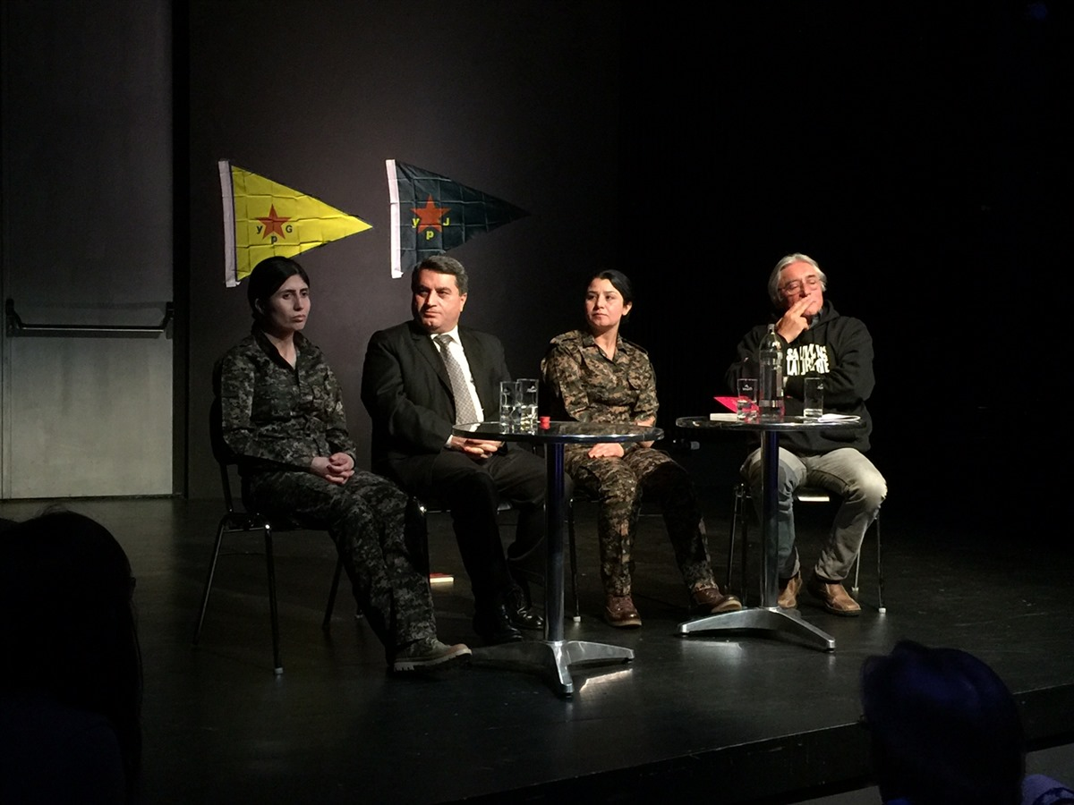 'Livet for Kobanê' konference i Luxembourg
