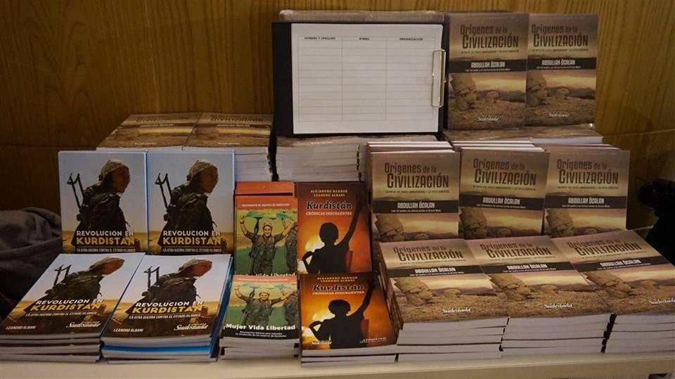 """Öcalans bog """"Den Demokratiske Civilisation"""" præsenteret i Argentina"""