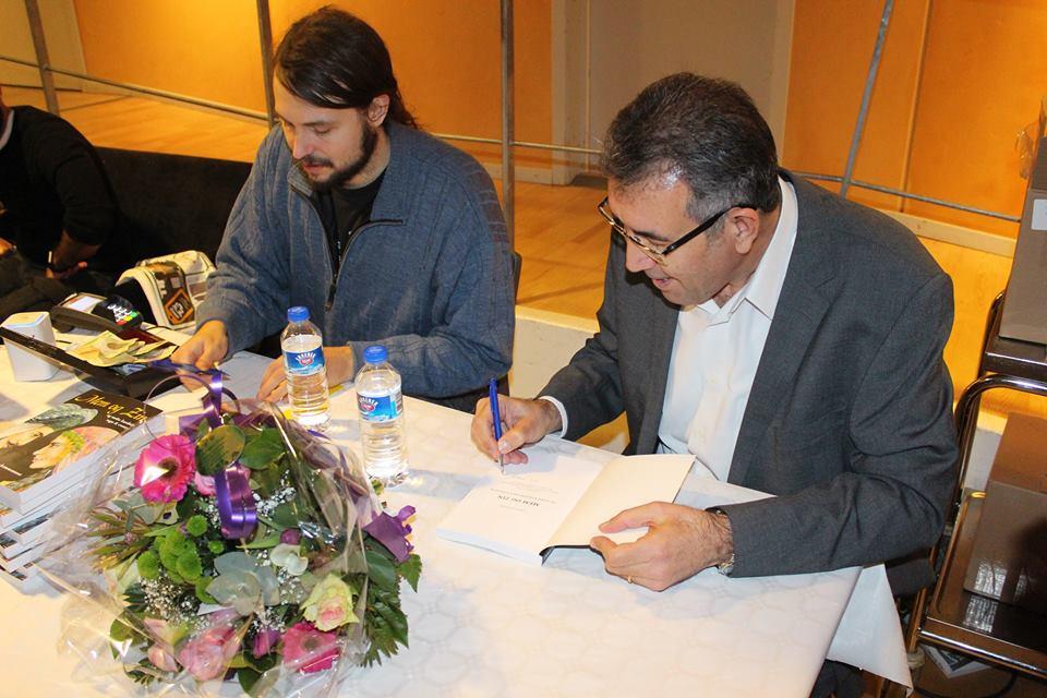 """Orhan Dogru udgiver sin bog """"Mem & Zín"""""""