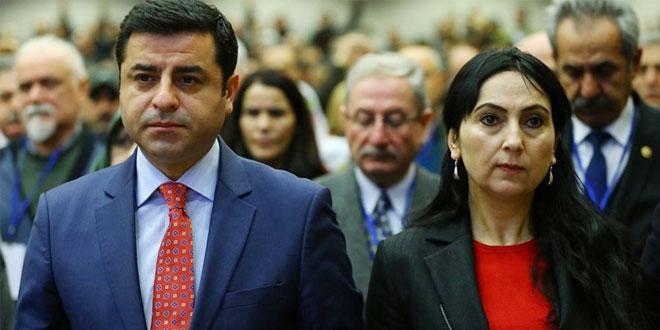 Tyrkiet anholder Selahattin Demirtas og Figen Yuksekdag