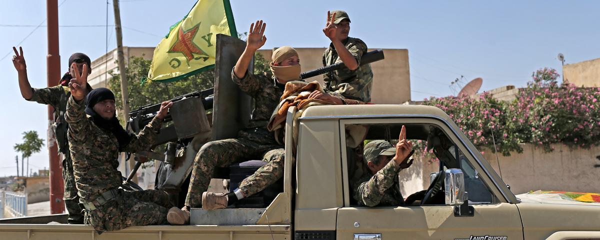 YPG-styrker befrier seks distrikter fra Al-Qaeda