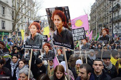 Protestoptog: Vi ønsker retfærdighed for Sakine, Fidan og Leyla