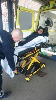 En sultestrejker er blevet indlagt på Rigshospitalet