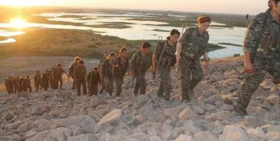 Kvinderne tog føringen i Rojava-revolutionen