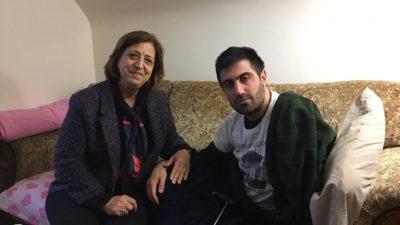 Den syriske demokratiske rådsrepræsentant besøger Yusuf Iba