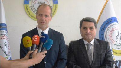 Norsk repræsentant for udenrigsministerium besøger Rojava