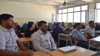 40.000 skolelærere deltager i sommerkurser i det Nordlige og Østlige Syrien