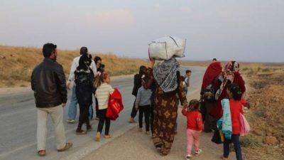 Armeniere i Serêkaniyê flygter igen efter 104 år