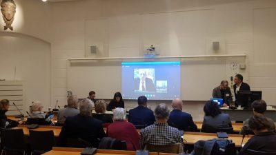 Ahmet Türk deltog i et møde i det svenske parlament