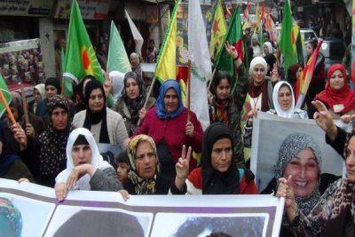 March for kurdisk national enhed fra Lausanne til Genève