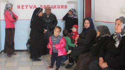 Heyva Sor behandler 700 syge mennesker om dagen i Shehba