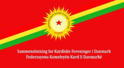 Pressemeddelelse fra FEY-KURD om angrebet i København