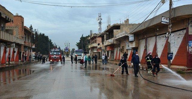 Nord og Øst Syriens Corona-forsvar