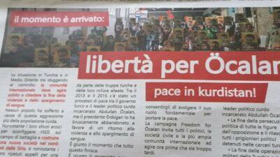 """Le Monde Diplomatique Italy offentliggør appel """"Tiden er kommet, frihed for Öcalan"""""""